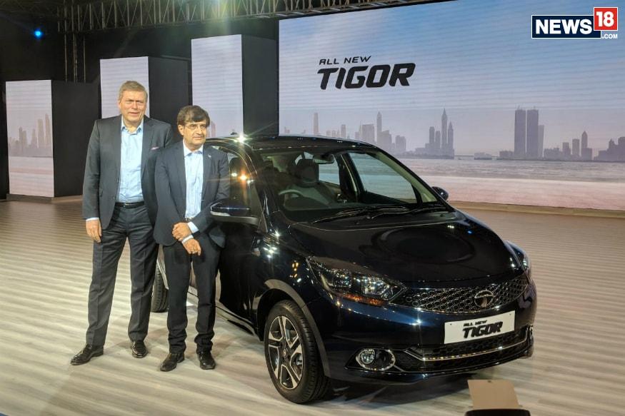 Tata Tigor facelift (Image: Abhinav Jakhar/News18.com)