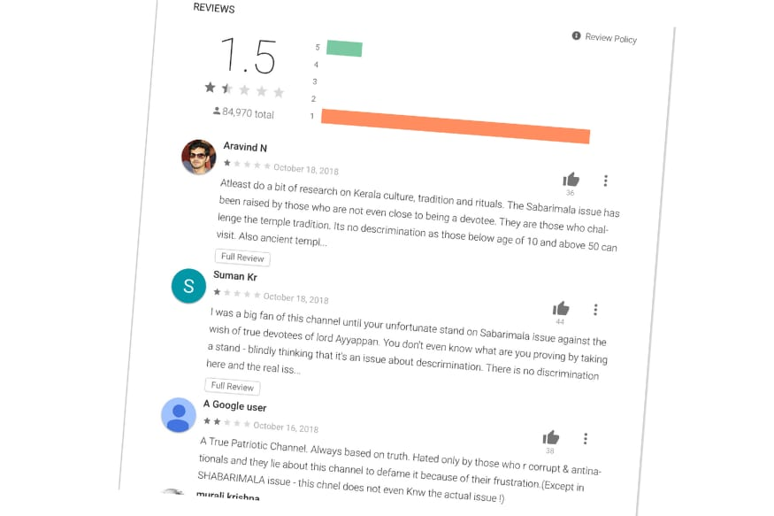 What Can App Stores do if Users Start Downvoting an App