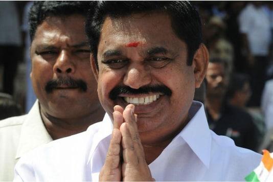 File photo of Tamil Nadu CM K Palaniswami.