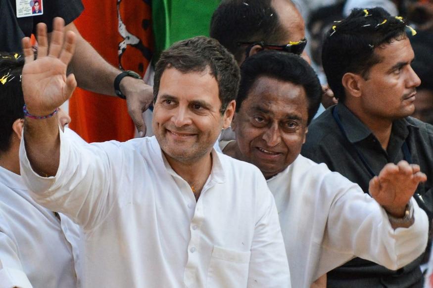 'Narmada Bhakt' Rahul Gandhi Begins Roadshow in MP's Jabalpur