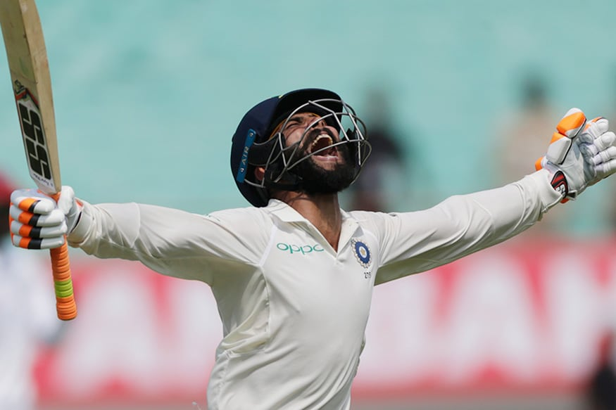 Ravindra Jadeja Celebrates His Maiden Century in Style (9)
