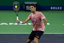 Roger Federer Makes Shaky Start to Shanghai Defence