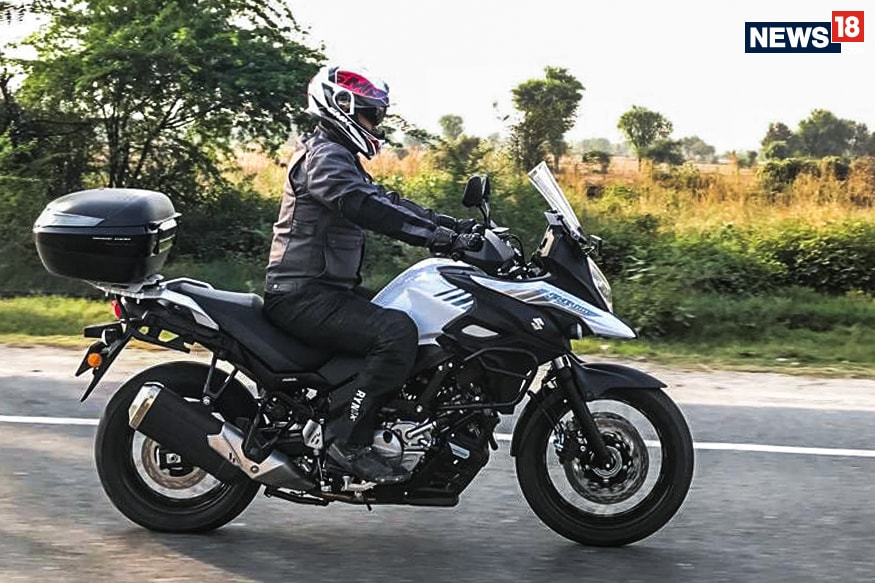 suzuki v strom 650 xt abs first ride review value for. Black Bedroom Furniture Sets. Home Design Ideas