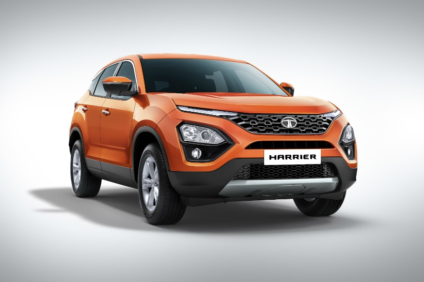 Upcoming Tata Harrier SUV. (Image: Tata Motors)