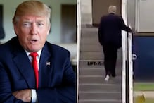 'Sums Up the Presidency': Internet Has a Field Day After 'Toilet Paper' Gets Stuck to Donald Trump's Shoe