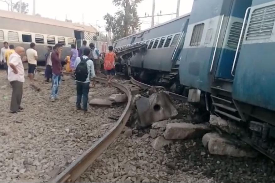 Image result for New Farakka Express derailment: Piyush Goyal announces ex gratia of Rs 5 lakh