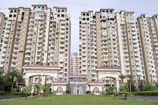 File image of building constructed by the Amrapali Group.