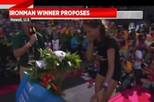 Patrick Lange Proposes His Girlfriend After Winning Triathlon World Championship