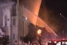 Massive Fire Destroys 150-year-old Church