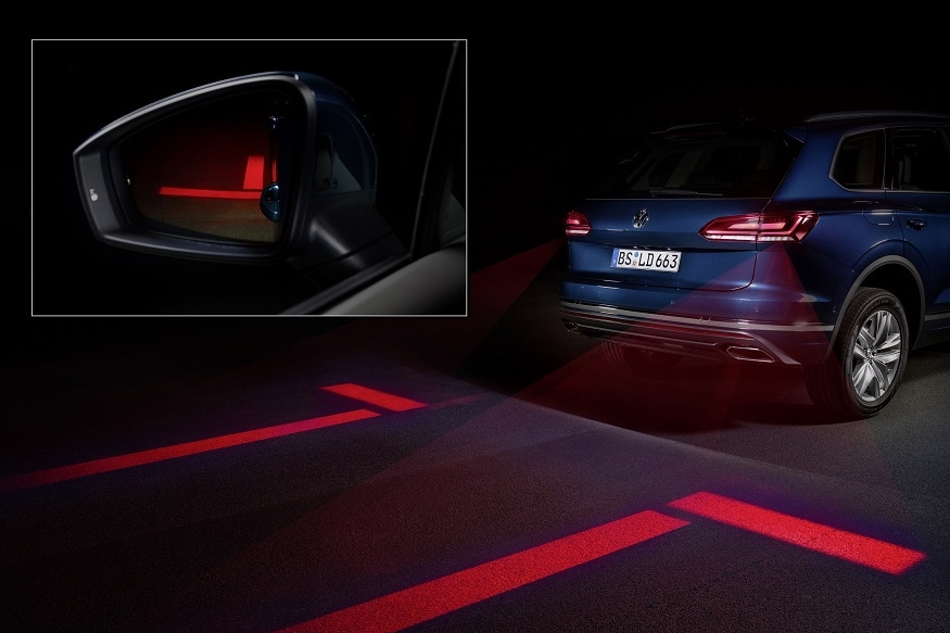 Volkswagen is working on smart tail lights. (Image: AFP Relaxnews)