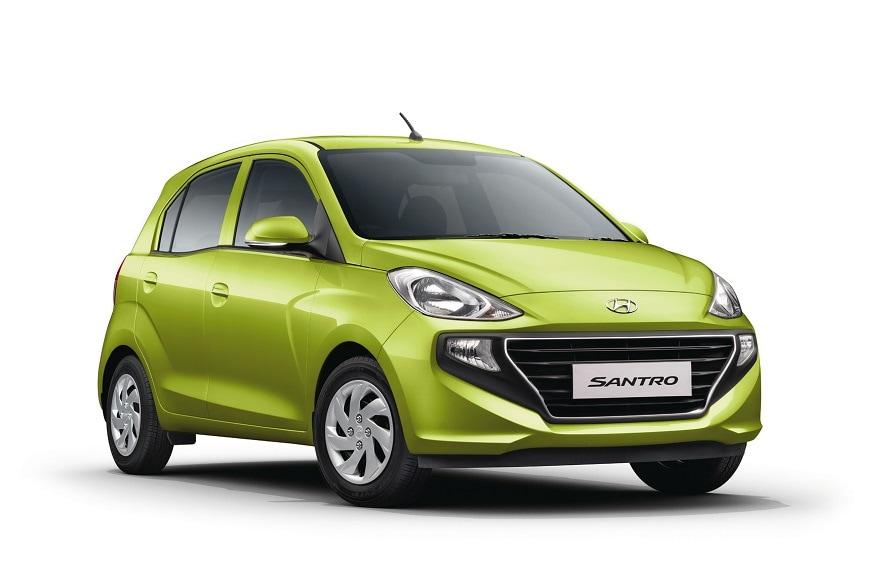 All-New 2018 Hyundai Santro hatchback. (Image: Hyundai)