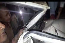 Watch: Driver Trapped Inside Vehicle for Hours in Saharanpur