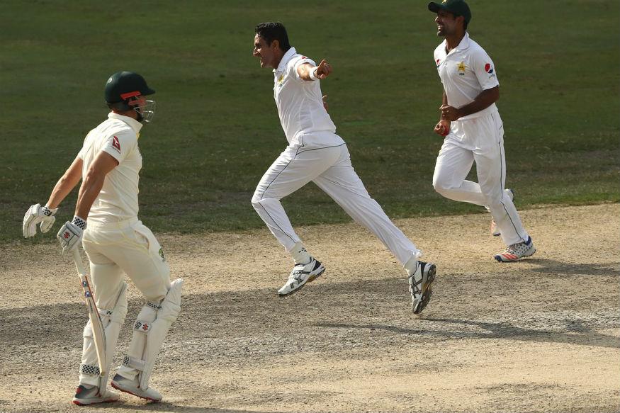 In Pics | Pakistan vs Australia, First Test, Day 4 at Dubai