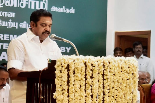 File photo of  CM Edappadi K Palaniswamy