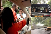 Mob Attacks News18 Woman Journalist, Others Covering Sabarimala Protests as Cops Look On