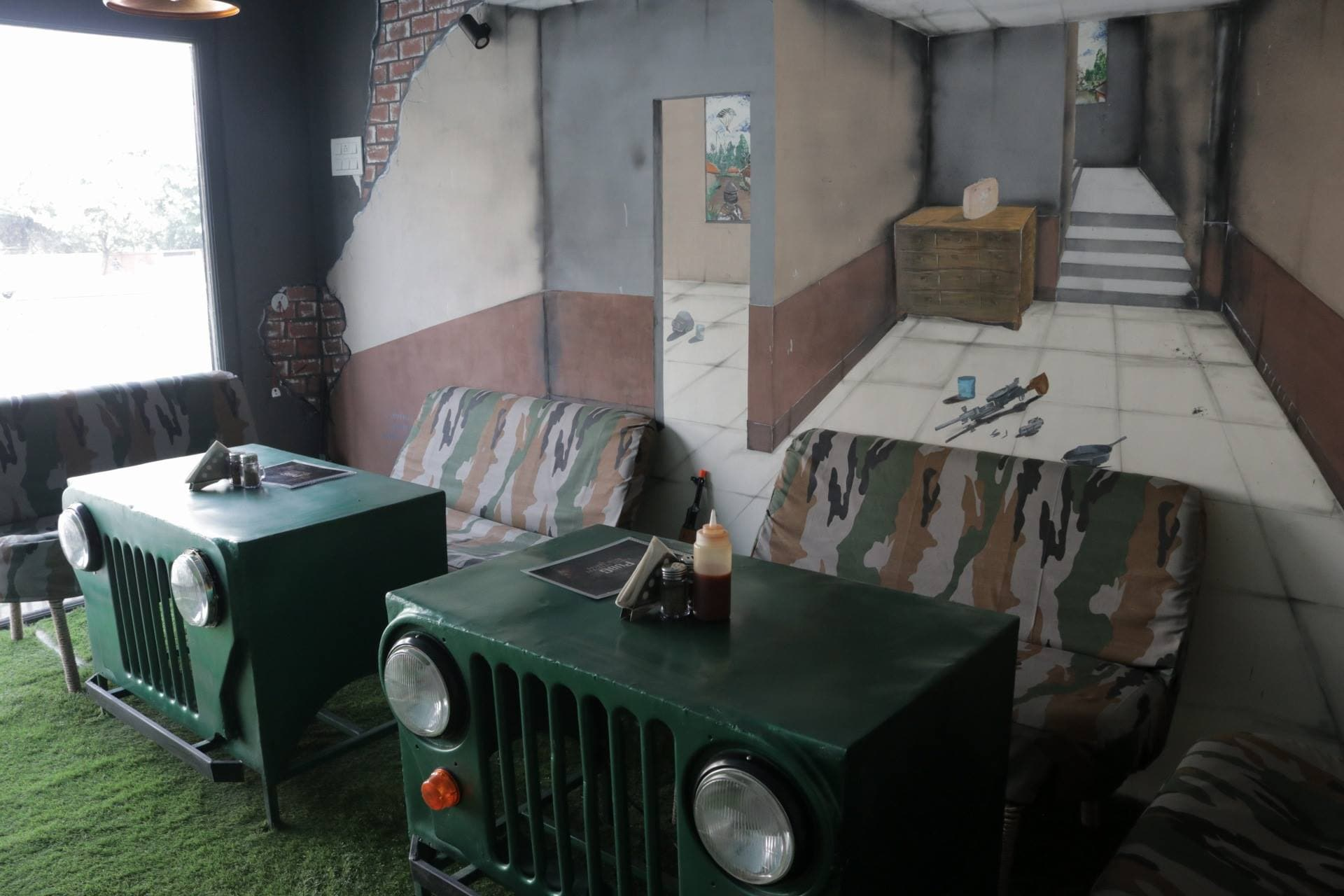 Theres A Pubg Themed Cafe In Jaipur Where Even Losers Can