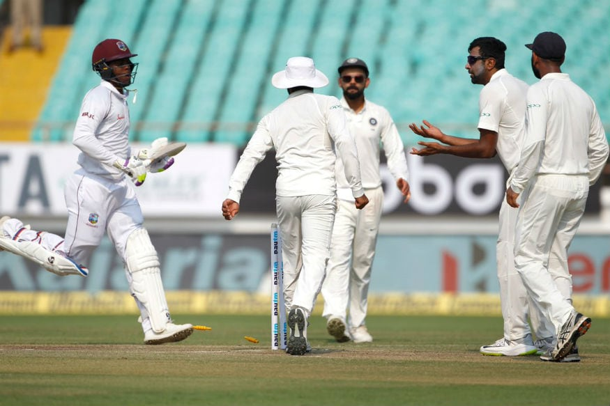 In Pics | India vs West Indies, First Test, Day 2 at Rajkot