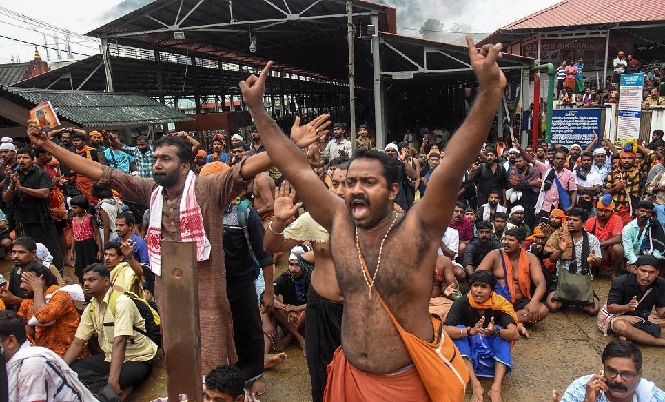 Not Just Kerala, RSS Wants BJP to Capitalise on Sabarimala Row in All Southern States