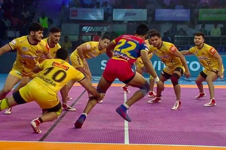 Pro Kabaddi 2018 Patna Pirates Vs Telugu Titans Highlights
