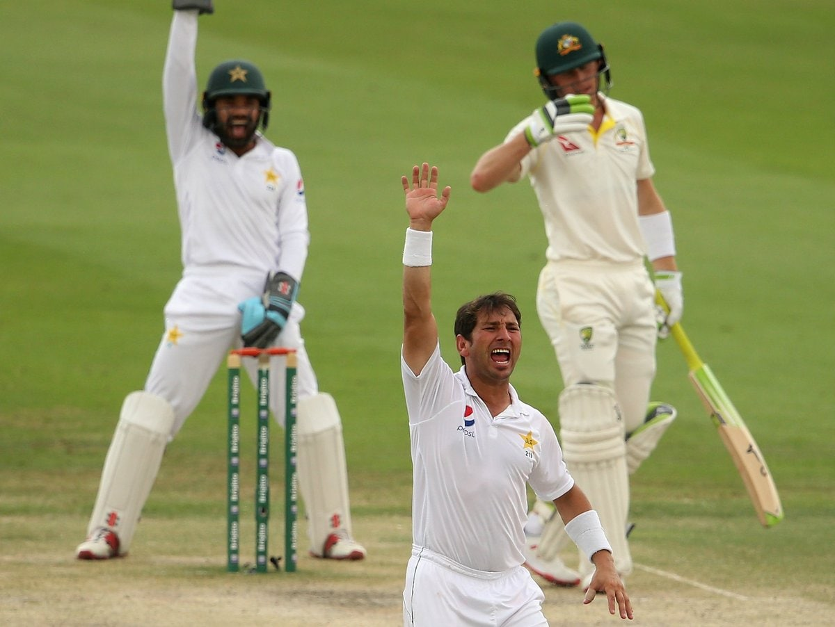 In Pictures: Pakistan vs Australia, Second Test Day 4 at Abu Dhabi