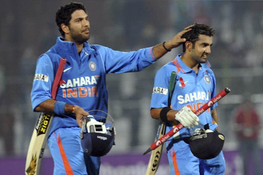 Gautam Gambhir and Yuvraj Singh (AFP)