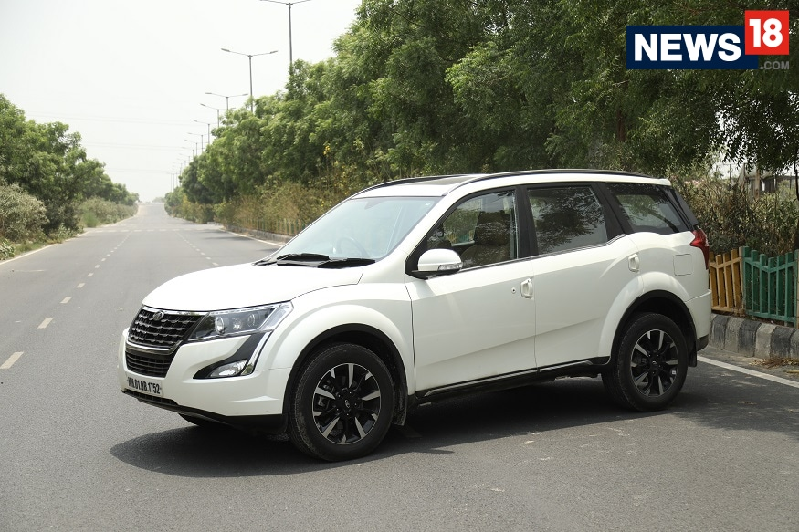2018 Mahindra XUV500 gets an updated design.  (Image: Siddharth Safaya/ News18.com)
