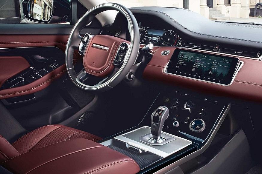 2020 Range Rover Evoque interiors. (Image: Land Rover)