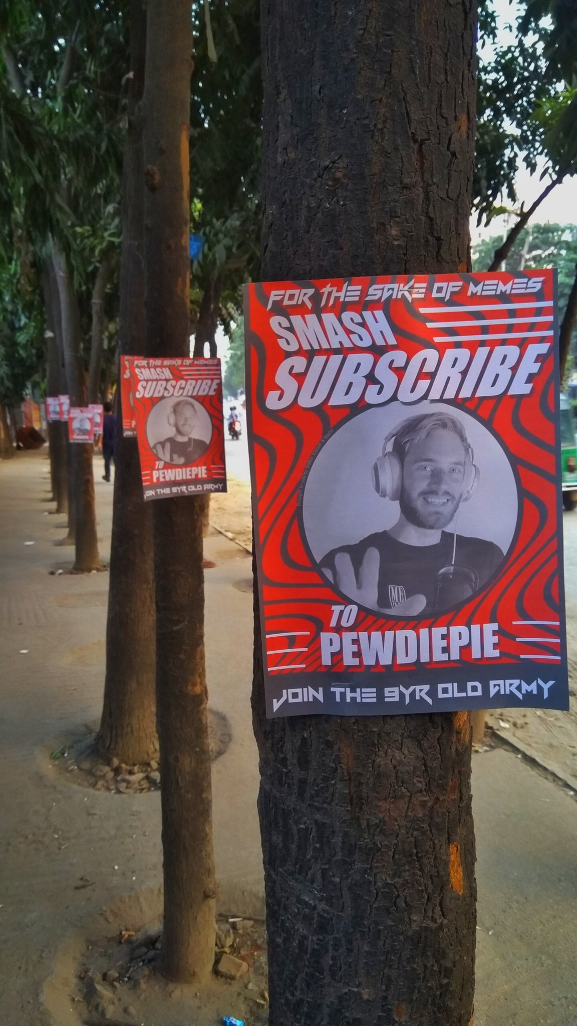 PewDiePie Fans in Bangladesh Have Taken to the Streets to Destroy T