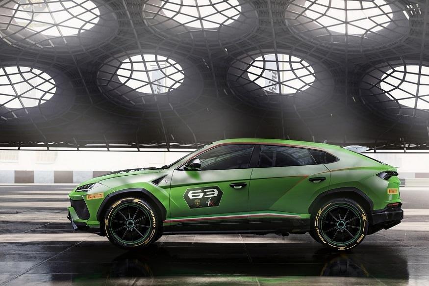 Lamborghini Urus ST-X Concept side profile. (Image: Lamborghini)