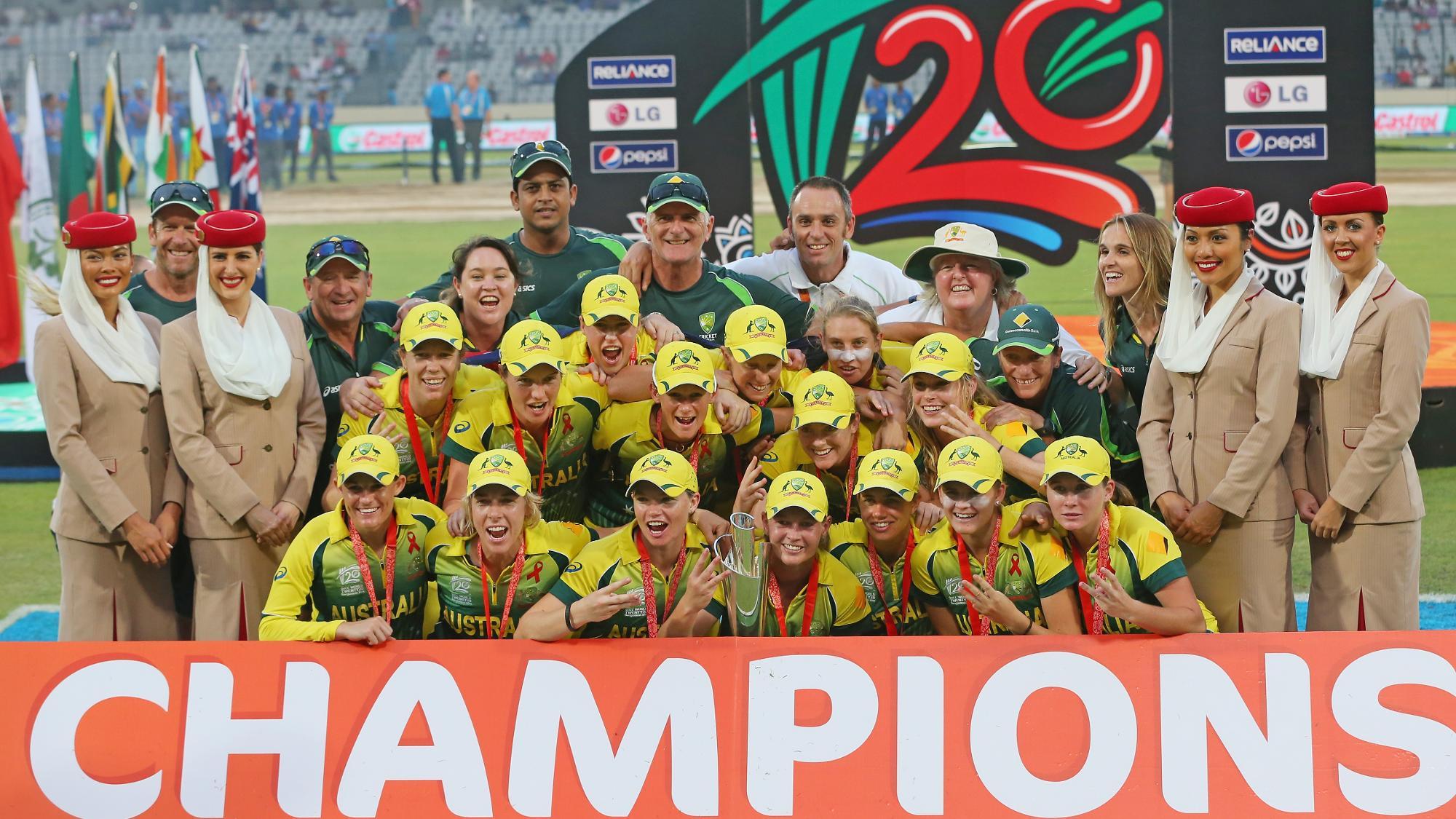 Australia Women 2014 Champions