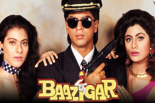 Released on November 12, 1993, Baazigar featured Shah Rukh as an anti-hero.