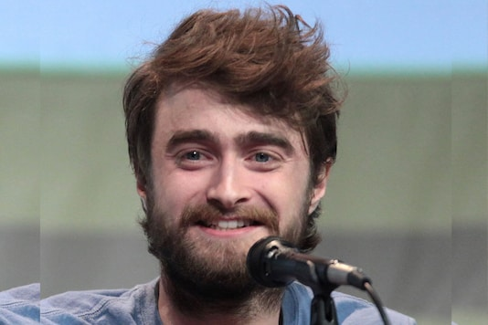 A file photo of Harry Potter star Daniel Radcliffe.