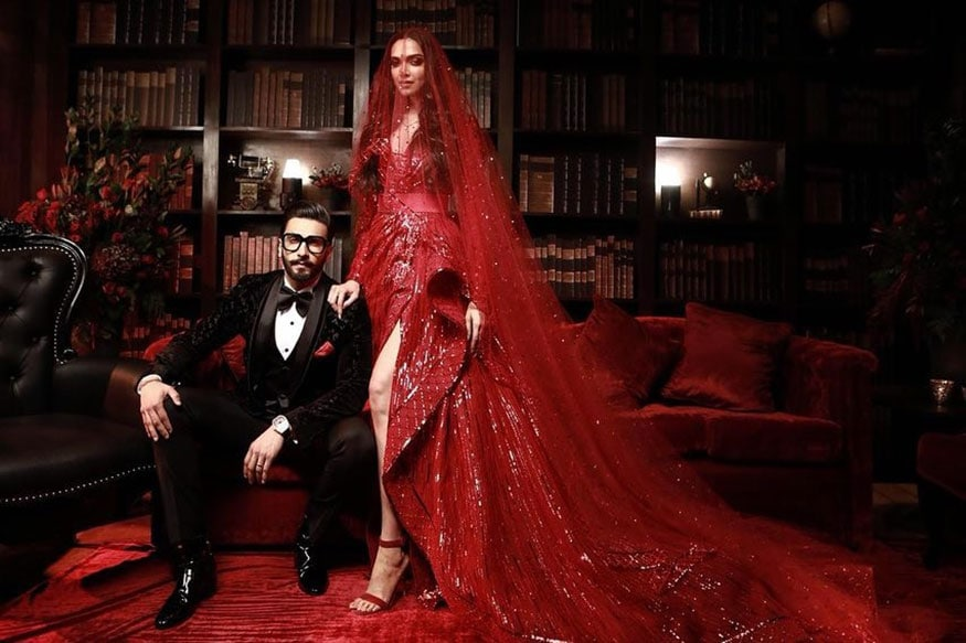 Newlywed Bollywood stars Deepika Padukone and Ranveer Singh have reached the final stage of their wedding celebrations with the reception thrown in for their friends from the film industry. This is their third reception party since they got married in Italy's picturesque Lake Como on November 14 and 15.  (Image: Instagram)