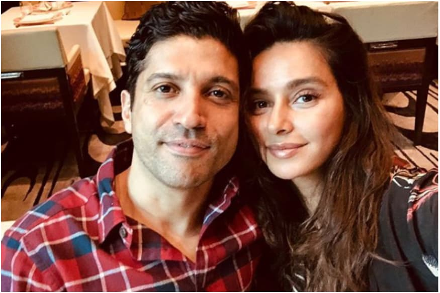 Celebrity Couples Farhan Akhtar and ShibaniDandekar