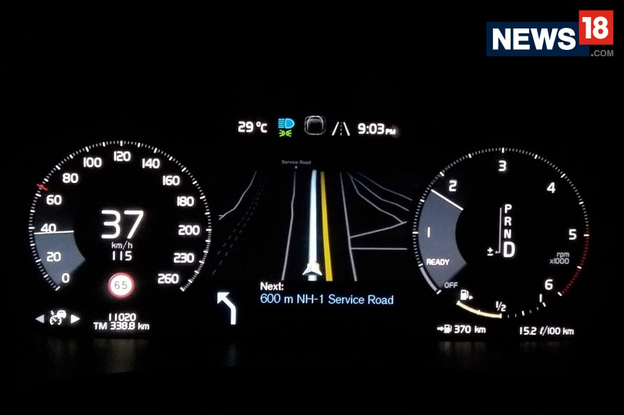 Volvo V90 Cross Country gets semi-autonomous technology. (Image: Arjit Garg/ News18.com)