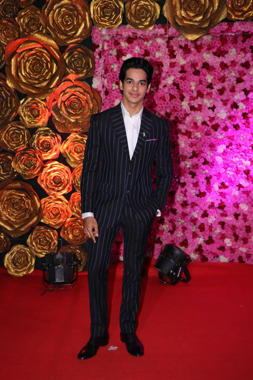 Ishaan Khatter attends the Lux Golden Rose Awards 2018 in Mumbai. (Image: Viral Bhayani)