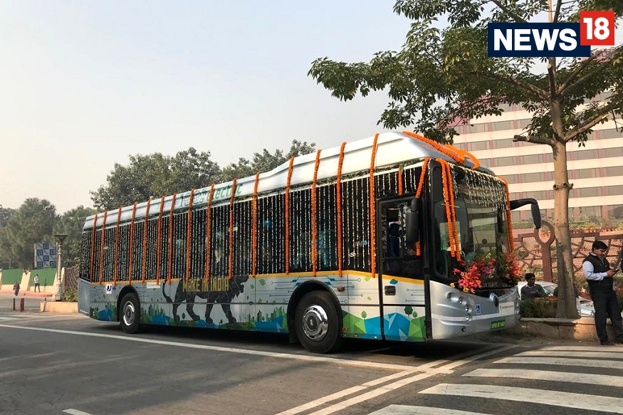 JBM Solaris Eco-Life All-Electric Bus. (Image: News18.com)