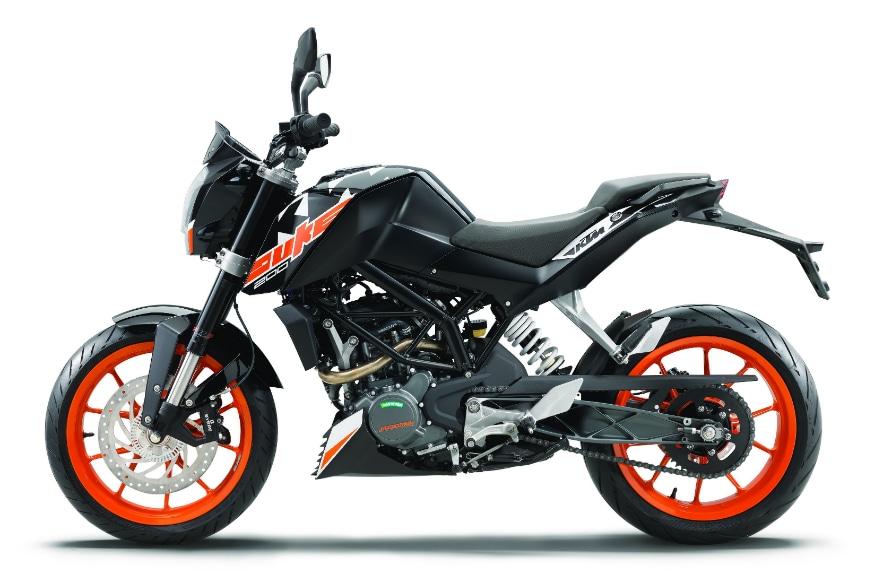 KTM 200 Duke ABS. (Image: KTM)