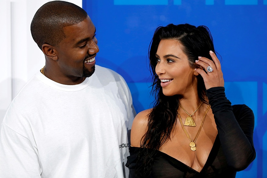 Kimye: Kim Kardashian, one of the biggest TV stars in the world, and Kanye West, a pathbreaking singer with cult following, fell for each other and decided to live together in 2014. Like Kim's reality show, Keeping Up With The Kardashians, their real life is no less fun filled. (Image: Reuters)