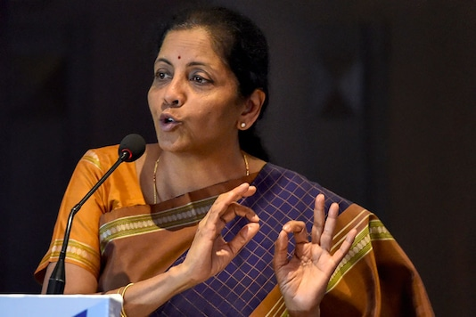 File photo of Nirmala Sitharaman. (Image: PTI)