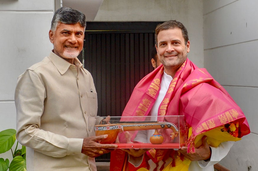 Blockbuster Rally by Rahul Gandhi, Chandrababu Naidu in the Works to Cement Partnership