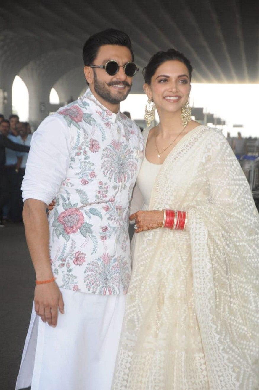 Ranveer Singh and Deepika Padukone 2