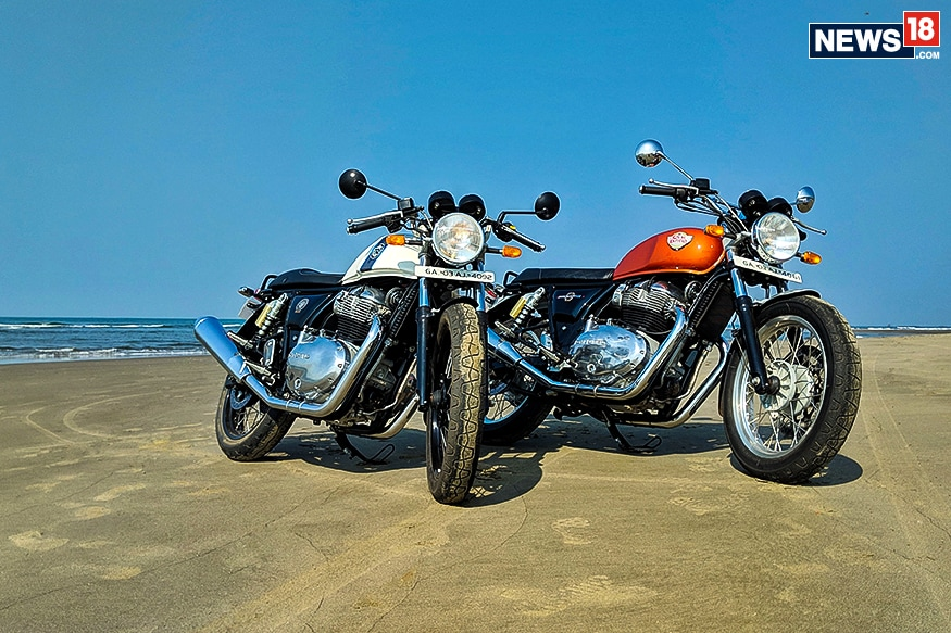Royal Enfield Interceptor 650 And Continental Gt 650 India Ride