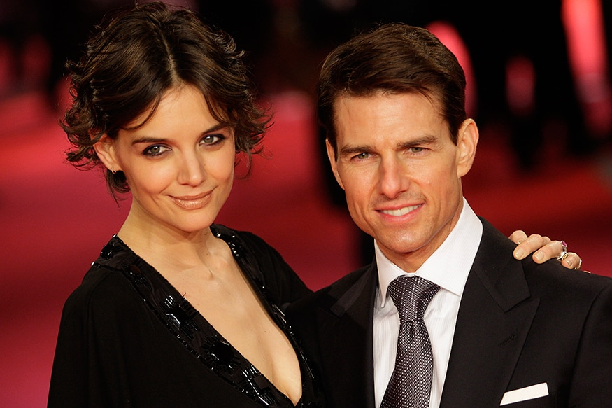 TomKat: Tom Cruise was trying to get over Nicole Kidman when he saw the glimpse of love in Katie Holmes, but none of them knew how it's going to end on a disastrous note. They were married from 2006-12. This was Cruise's third marriage. (Image: Reuters)
