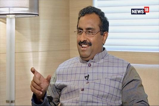File photo of senior BJP leader Ram Madhav.