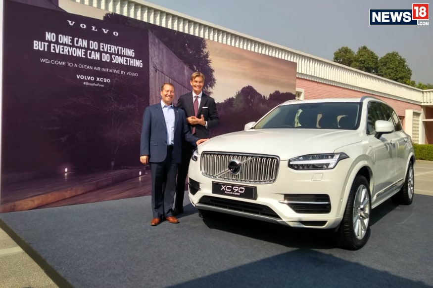 Swedish Ambassador to India Gets Volvo S90 T8 Plug-in Hybrid as His Official Car