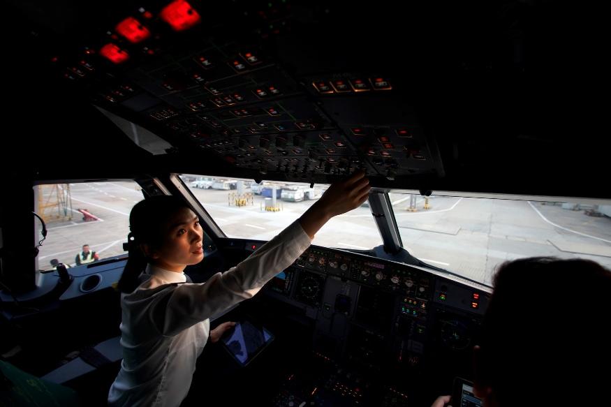 china pilots