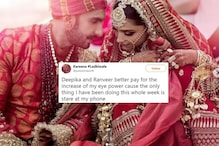Deepika Padukone and Ranveer Singh's Gorgeous Wedding Photos Make Twitter Ask For More