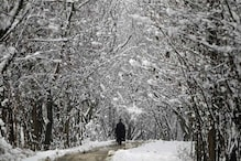 Cold Wave Grips Kashmir, Leh Records Coldest Night of Season at -15.8 Degrees