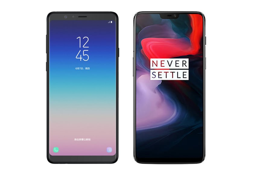 Samsung Galaxy A9 Vs OnePlus 6T: The New Alternate Flagship Smartphone Battle